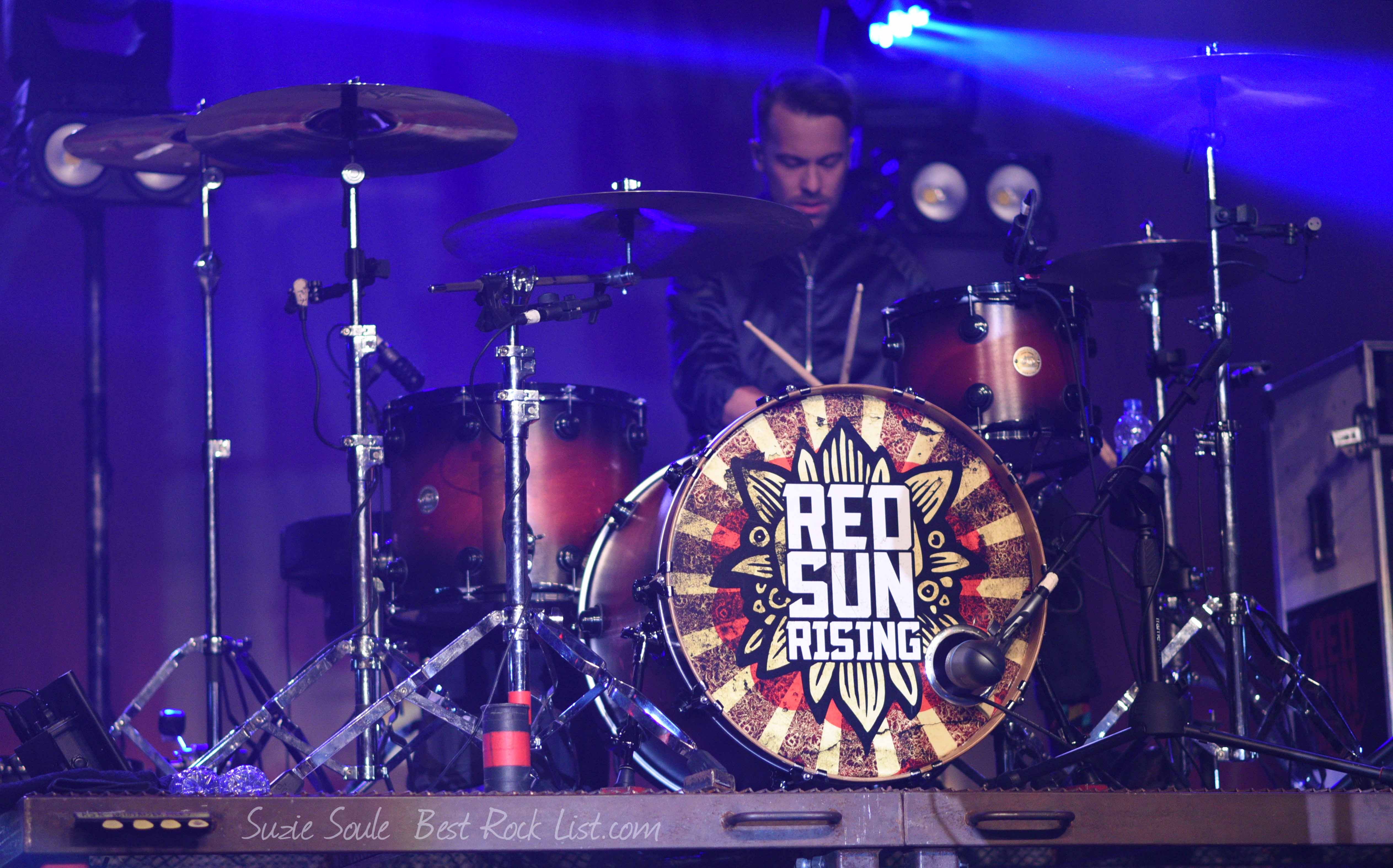 Pat Gerasia of Red Sun Rising